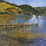 Lakeside oil/canvas 16x20 $650
