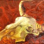 Resting Bones, 12x9, $300