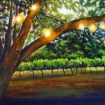 Dusk in the Vineyard 20x16 $650