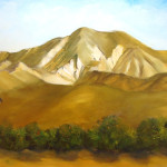 Rancho Camulos Groves, oil, $425