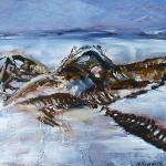 Arctic Boneyard, 12x9, $300