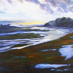 A Braided River, the Arctic, 24x18, $850
