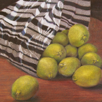 """Fresh limes, 12x9 (matted, fits 16""""x12"""" frames), $100"""