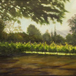 Tara's Vineyard 24x20 oil $850