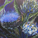 Artichokes on View 16x20, SOLD