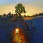 We All Have Roots, 18x24 oil on canvas, $595