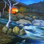 Creekside Cafe 20x16 $650