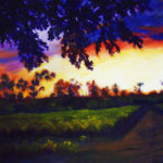 Glow of the Grapes 20x16 $625