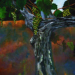Old Vine, New Grapes 18x24 $750