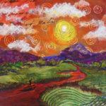 Orange Colored Sky 16x20 $375