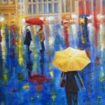 Rainy Day Square 18x24 $750