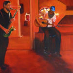Cool Jazz in Red, 16x20, $650