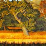 Golden Oak, 9x12, $350